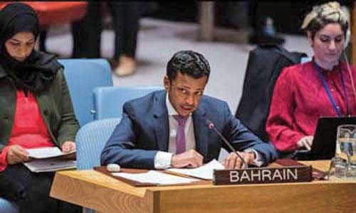 Bahrain reaffirms support to rights of Palestinians at UN