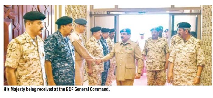 BDF efforts stressed