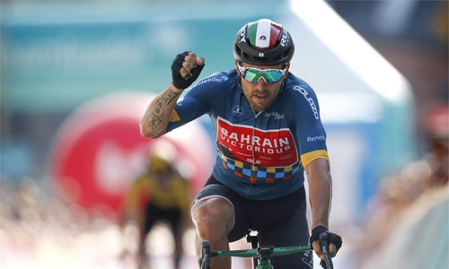 Team Bahrain Victorious riders shine to end Benelux Tour