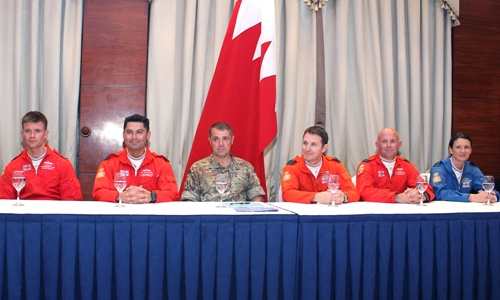 Red Arrows to perform today in Bahrain