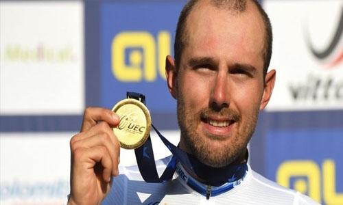 HH Shaikh Nasser praises Bahrain Victorious rider's Road Championship win