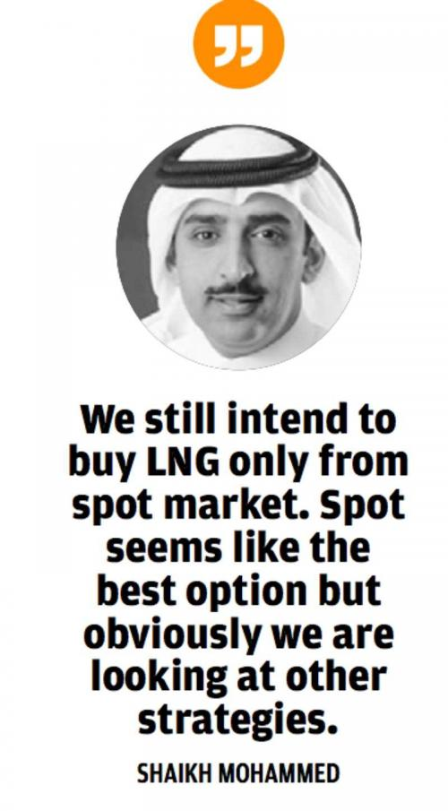Adnoc to supply first cargo for LNG terminal