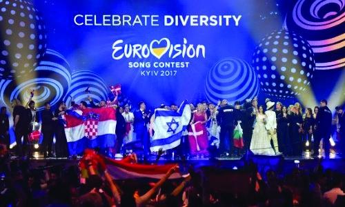 Eurovision hoopla fails to reach Ukraine's war-torn east