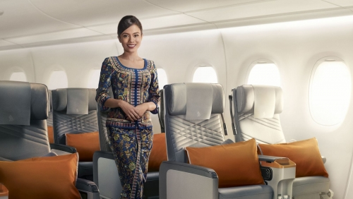 Meal on A380 jumbos a big hit