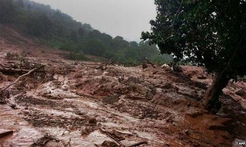 At least six dead, dozens missing, in Indian landslide