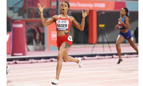 Bahrain's Salwa Eid Naser nominated for Female World Athlete of the Year