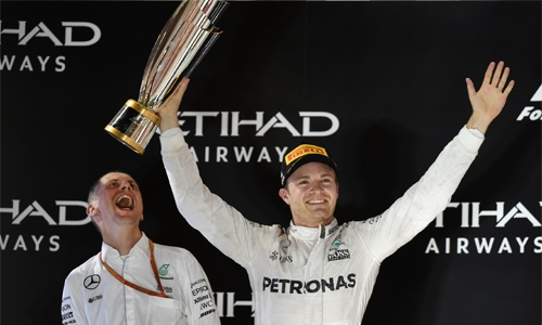 Maiden F1  title for Nico