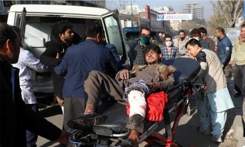 Rockets hit Afghan capital Kabul, at least three killed