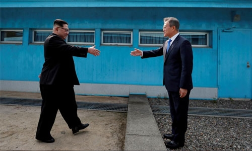 Korean leaders aim 'complete denuclearization'