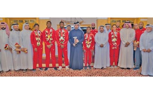 Shaikh Khalid hails Bahrain's achievement
