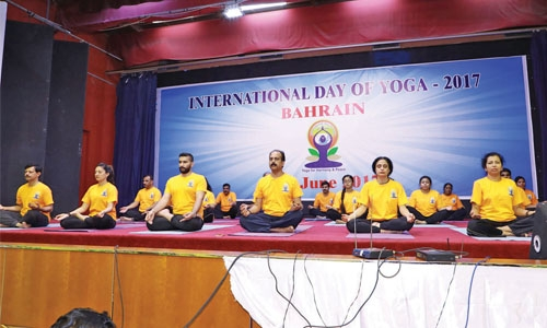 Art of Living leads Bahrain IDY 2017 celebrations