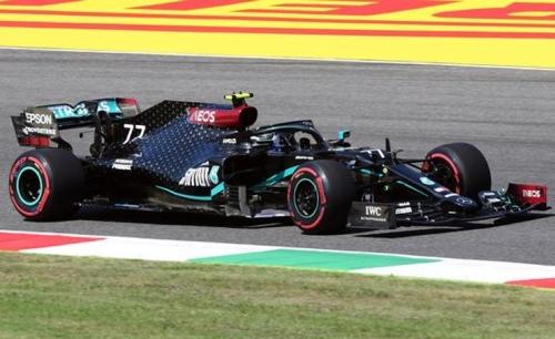 Bottas fastest in first practice at Mugello