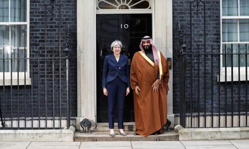 Britain Saudi ink deals worth $2 billion