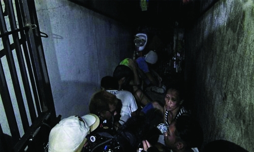 Detainees found in 'secret cell' in Philippines