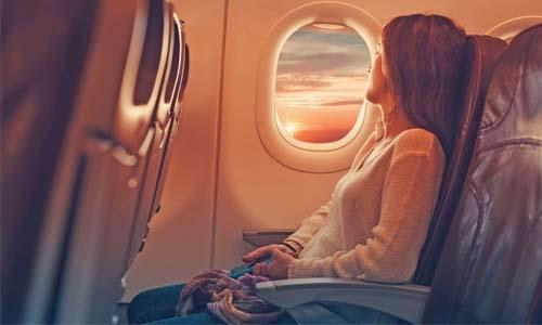 Avoiding flu while flying
