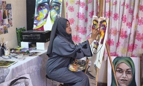 The woman fighting for the arts amid conflict in Yemen