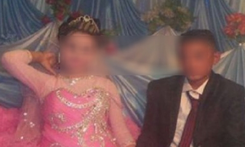 12-year-old Egyptian boy marry 10-year-old