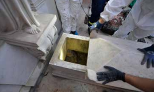 Graves dug in missing teen search empty: Vatican