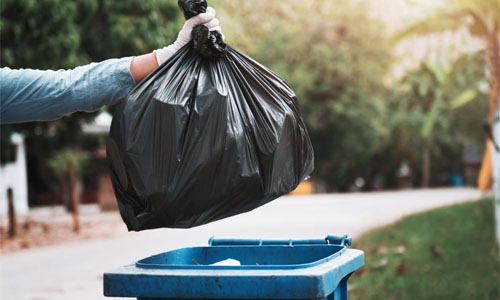 Each of us in Bahrain makes 1.08 kg of waste per day!