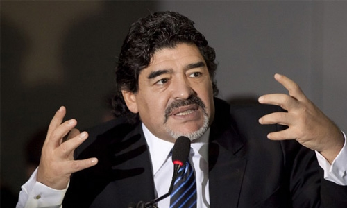 Maradona set for India visit ahead of U-17 WC