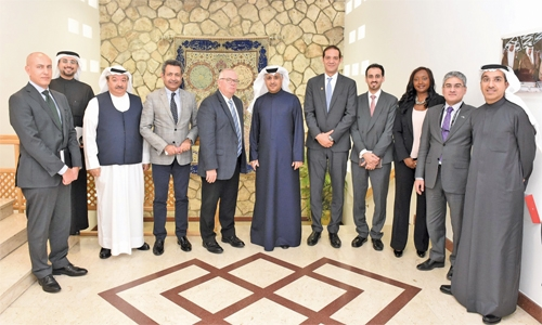 Bahrain discusses cargo expansion plans with UPS