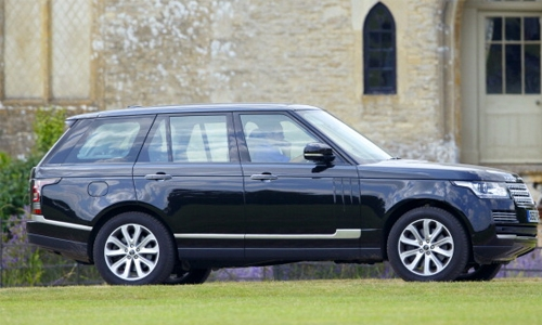 Prince William's Range Rover on sale