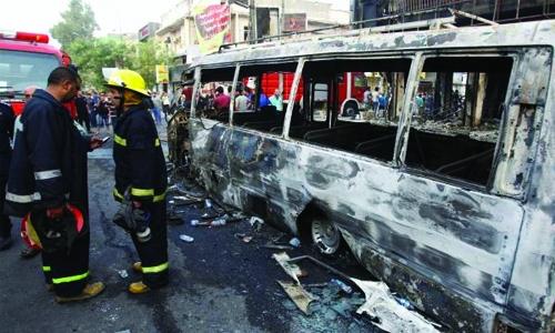 IS-claimed Baghdad blast kills at least 75
