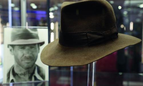 Indiana Jones hat fetches $500,000