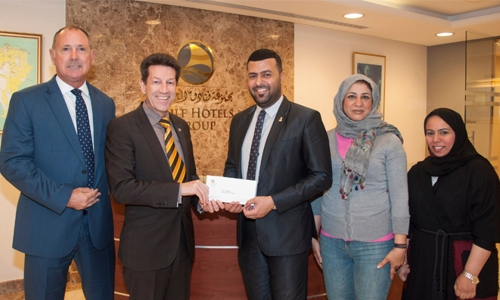 """Gulf Hotels Group lends a helping hand to """"Smile"""""""