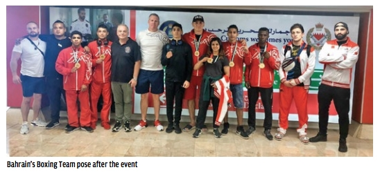 Bahrain excel in boxing