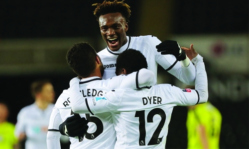 Swansea rout Notts