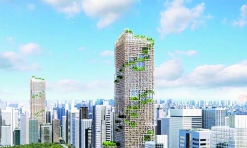 Tallest wooden skyscraper set for Tokyo in 2041