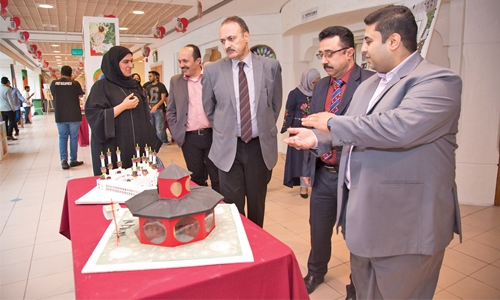 Creative, innovative displays at Ahlia's Interior Design Day