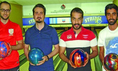 Bapco bowling: Retirees win