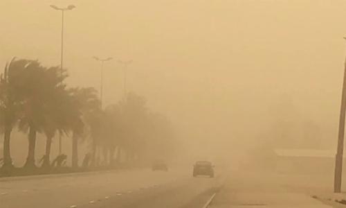 Sandstorm sinks Bahrain