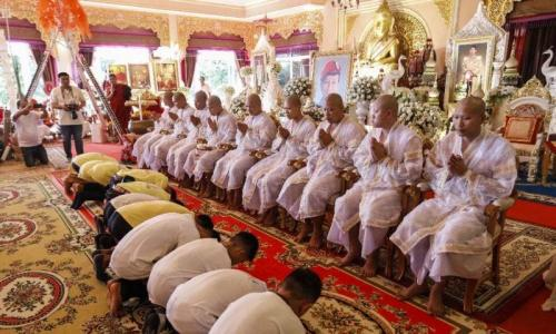 Thai boys rescued from cave to be ordained in Buddhist ceremony