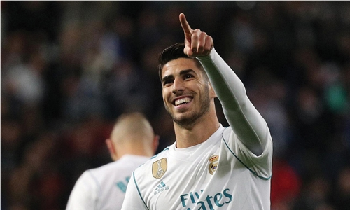 Asensio helps Real to victory