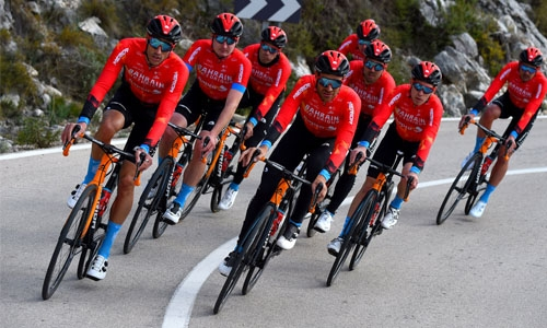 Team Bahrain Victorious set for season-opening ride