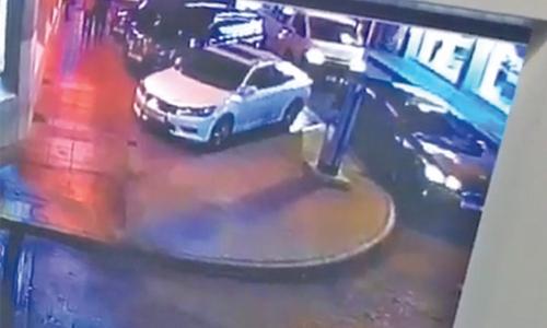 Car stolen from parking ground