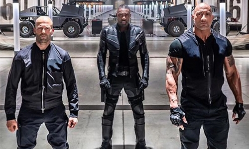 Dwayne, Jason back with high-intensity fights in 'Hobbs & Shaw'