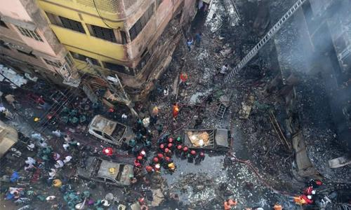 Inferno kills at least 70 in Dhaka