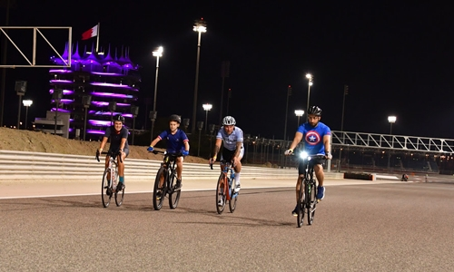 BIC Fitness on Track Batelco Ramadan Special continues for runners and cyclists on Friday