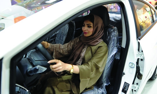 Women only motorshow opens in Saudi
