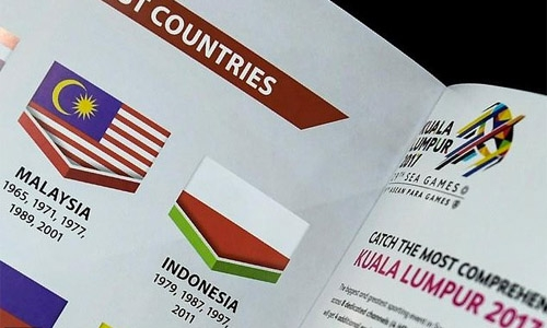 Indonesia calls for calm over flag blunder