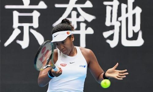 Osaka meets Andreescu in China quarters