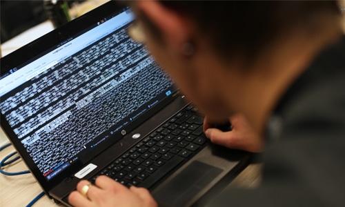 Three -fold jump in cyber attacks