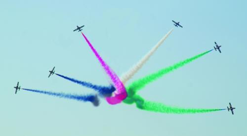 Weather no deterrent to Airshow