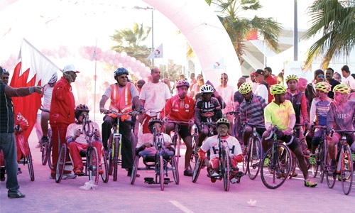 Bahrain's first-ever national sports day was a big success