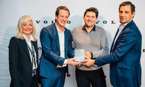 Motorcity Wins Volvo Excellence Award