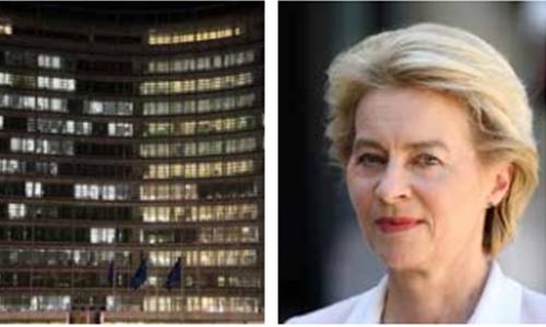 New EU president von der Leyen to sleep in her office